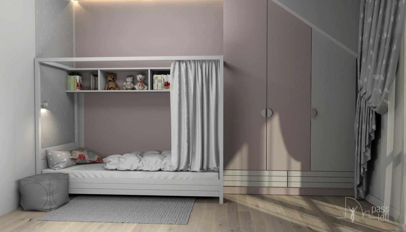 Pokój dla dziewczynki w wieku 4-10 lat